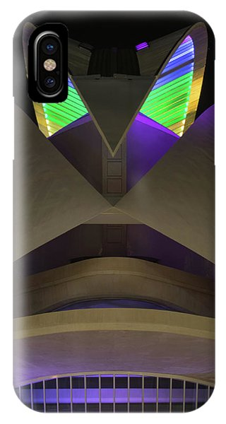 Gay Pride Flag iPhone Case - Palace Of The Arts by Guillermo Lizondo