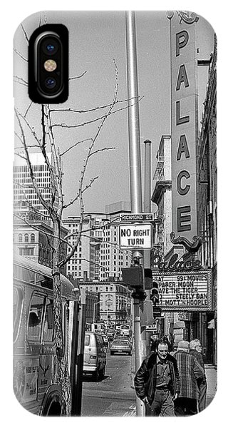 Palace Theatre, 1974 IPhone Case