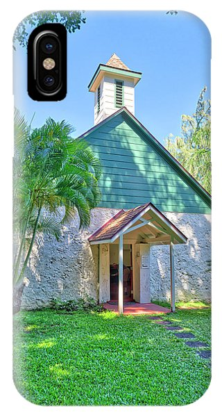 Palapala Ho'omau Congregational Church IPhone Case