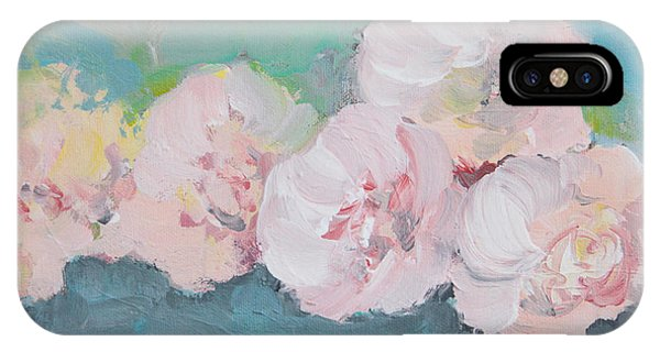 Pale Pink Peonies IPhone Case
