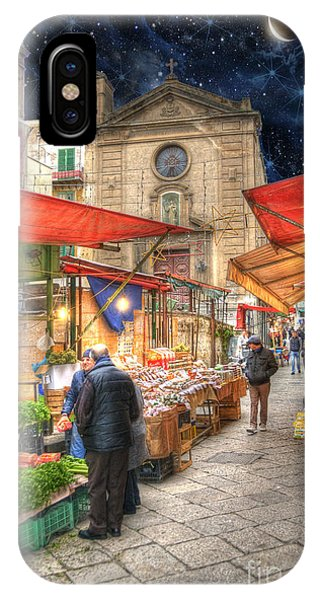 Palermo Market Place IPhone Case