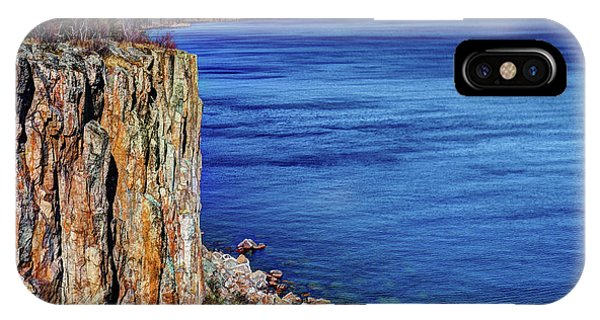 Lake Superior iPhone Case - Palisade Head Tettegouche State Park North Shore Lake Superior Mn by Wayne Moran
