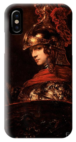 Plumes iPhone Case - Pallas Athena  by Rembrandt