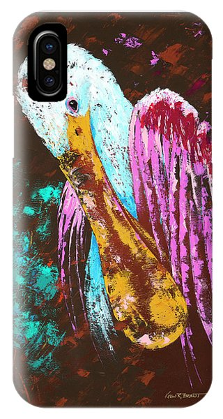 Pallet Knife Spoonbill IPhone Case
