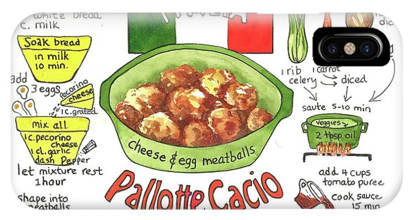 Pallotte Cacio IPhone Case