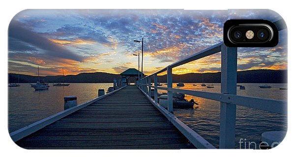Sunset iPhone Case - Palm Beach Wharf At Dusk by Sheila Smart Fine Art Photography