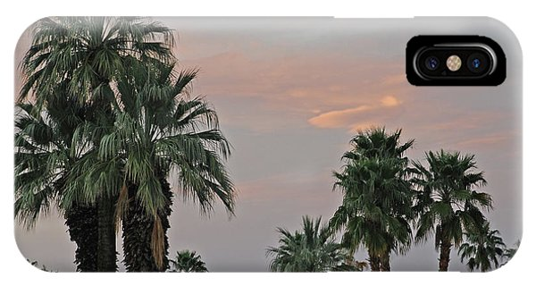 Palm Desert Sunset  IPhone Case