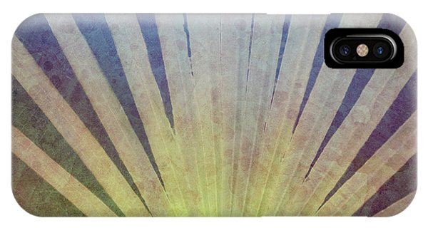 Cypress iPhone Case - Palm Frond Light by Marvin Spates