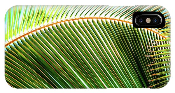 Palm Frond Sway IPhone Case