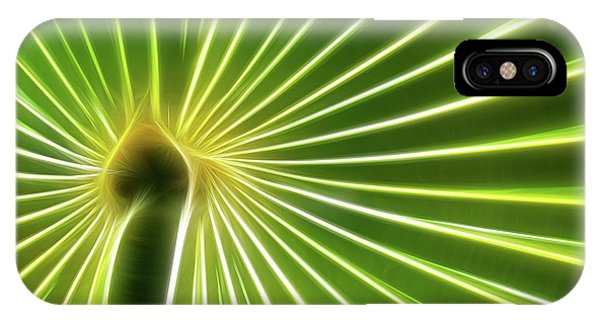 Palm Glow IPhone Case