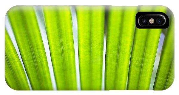 Palm Patterns Macro IPhone Case
