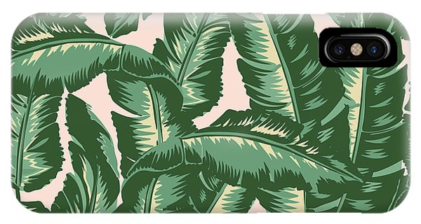 Life iPhone Case - Palm Print by Lauren Amelia Hughes