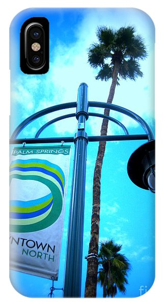 Palm Springs North IPhone Case