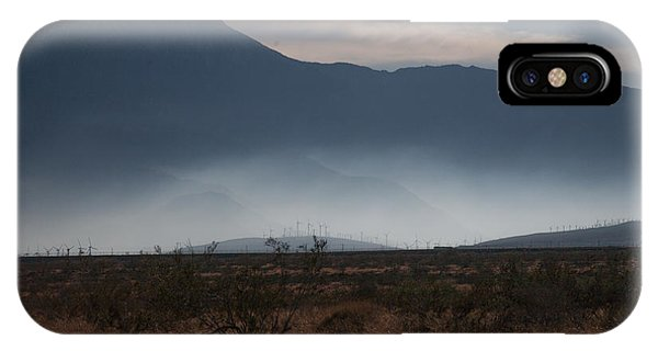 Palm Springs Windmills IPhone Case