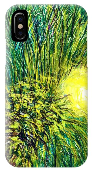 Palm Sunburst  IPhone Case