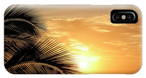Palm Sunset 2 IPhone Case