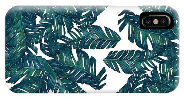 Tropical iPhone Case - Palm Tree 7 by Mark Ashkenazi