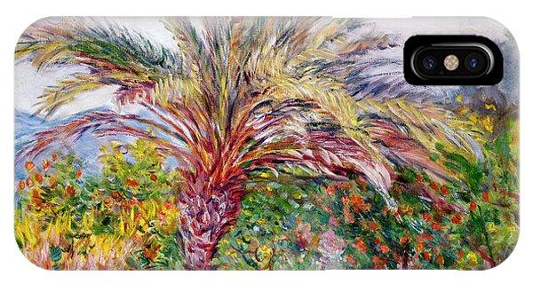 Palm Tree At Bordighera IPhone Case