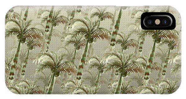 Palm Tree Grove IPhone Case