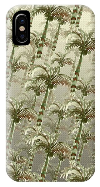 Palm Tree Grove IPhone Case