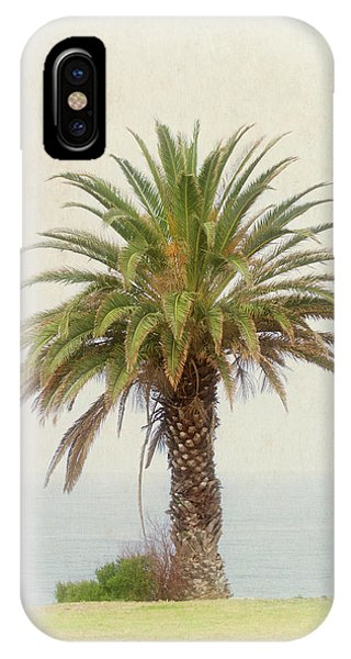 Palm Tree In Coastal California In A Retro Style IPhone Case
