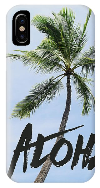 Hawaii iPhone Case - Palm Tree by Nastasia Cook
