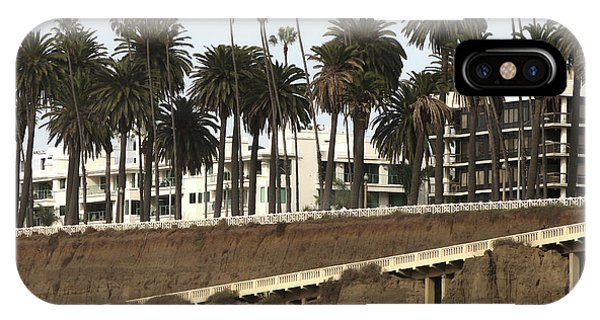Palm Trees And Apartments IPhone Case