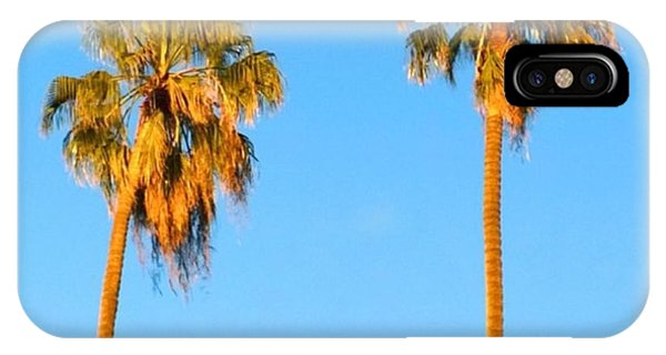 Summer iPhone Case - #palm #trees At Sunset. #california by Shari Warren