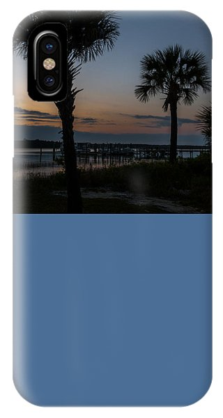 Palmetto Sky IPhone Case