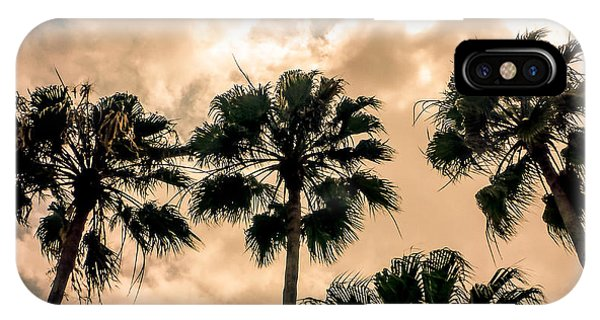 Palms Against The Sky IPhone Case