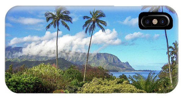Palms At Hanalei IPhone Case