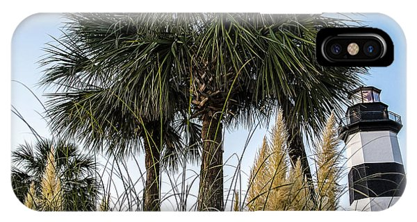 Palms At Lightkeepers IPhone Case