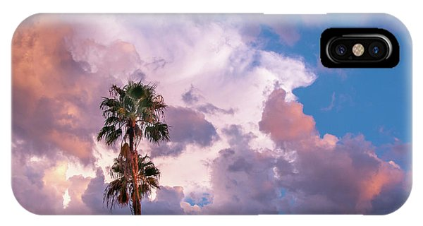 Palms At Sunset IPhone Case