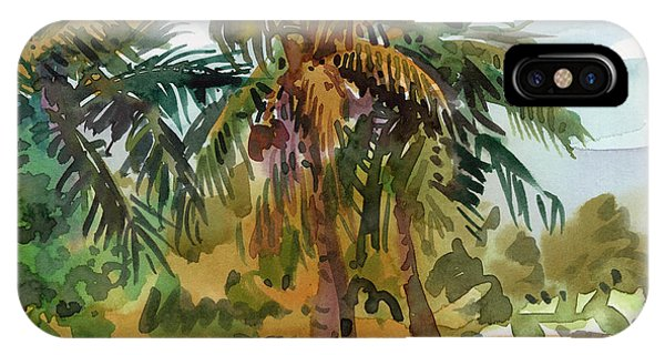 Palm Trees iPhone Case - Palms In Key West by Donald Maier