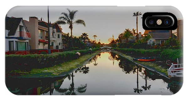 Palms Reflected IPhone Case