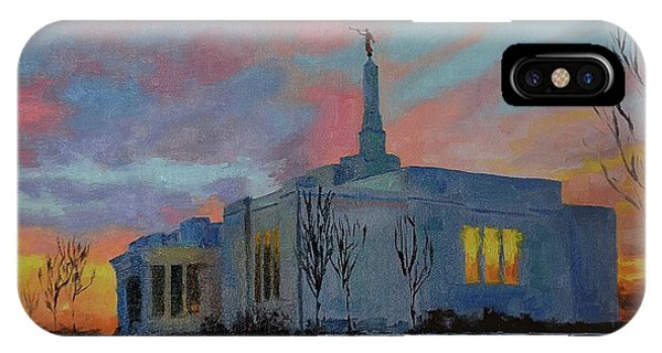 Palmyra Temple At Sunset IPhone Case