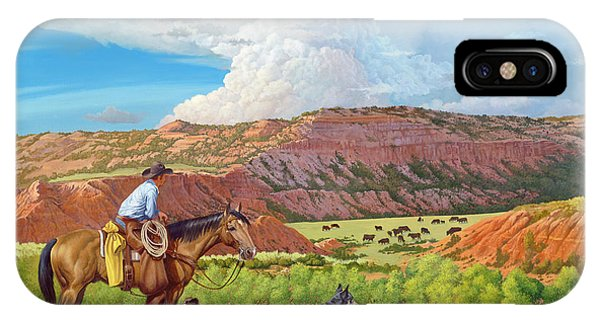 Palo Duro Serenade IPhone Case