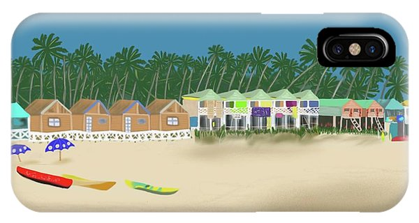 Palolem Beach Goa IPhone Case