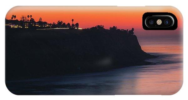 Palos Verdes Coast After Sunset IPhone Case