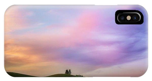 Palouse Cirrus Rainbow IPhone Case