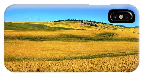 iPhone Case - Palouse Wheat Field by David Patterson