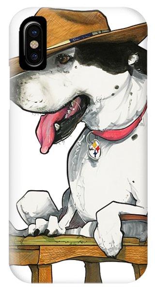 Caricature iPhone Case - Paluzzi 7-1383 by John LaFree