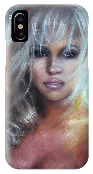 Pamela Anderson IPhone Case