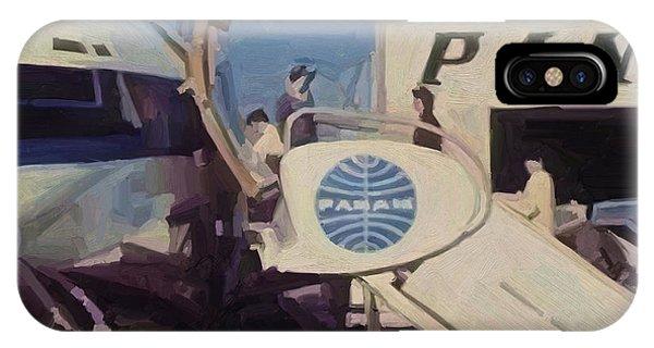 Pan American Airways Boeing 707 IPhone Case