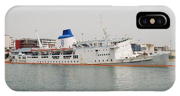 Panagia Tinou Ferry Sinking In Athens IPhone Case