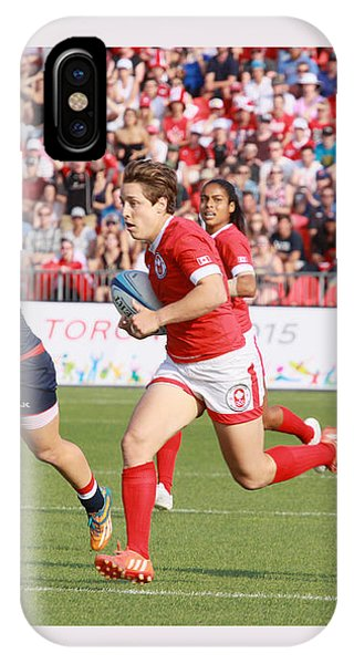 Panam Games. Womens' Rugby 7's IPhone Case