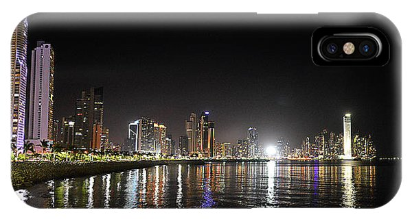 Panama City Night IPhone Case