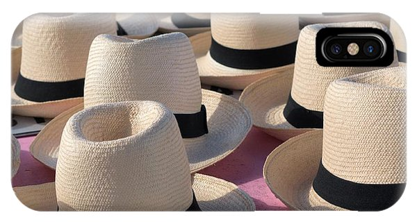 Panama Hats 3 IPhone Case