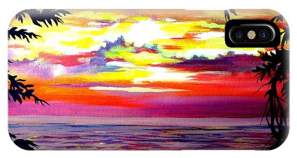 Panama.pacific Sunrise IPhone Case