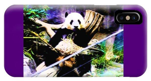Panda Bear 1 IPhone Case